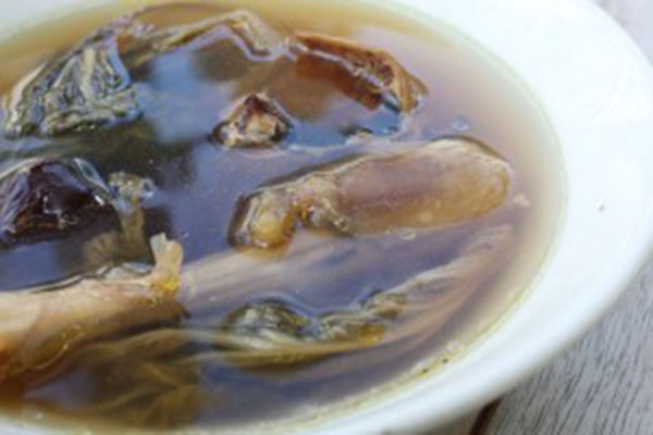 Slow Boiled Dried Octopus With Vegetables Soup Audrey Cooks Rh Audreycooks Com Vegetable Mix Recipe